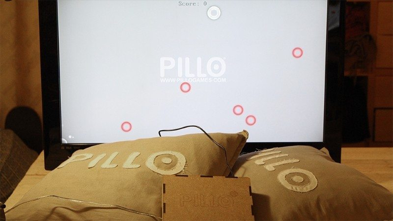 Super Comfortable Video Games Can Be Controlled by Pillows