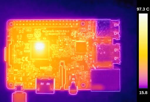 raspberry pi 3 overheat