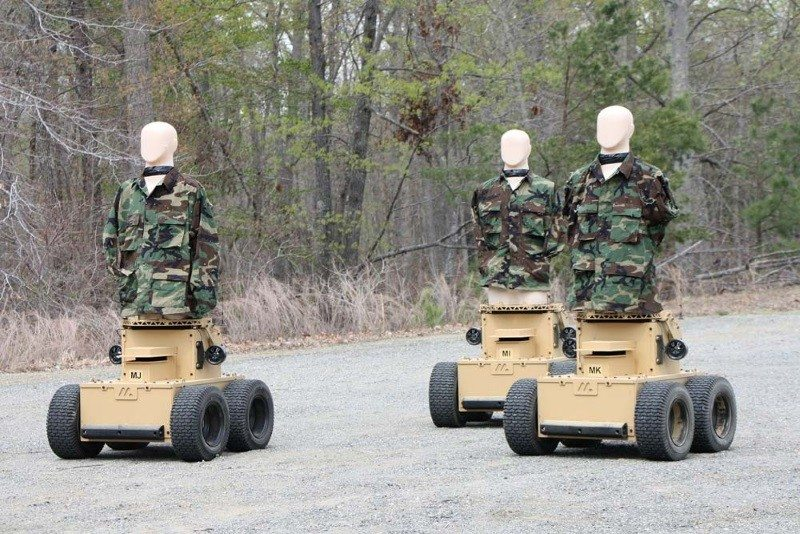 Marathon robot targets