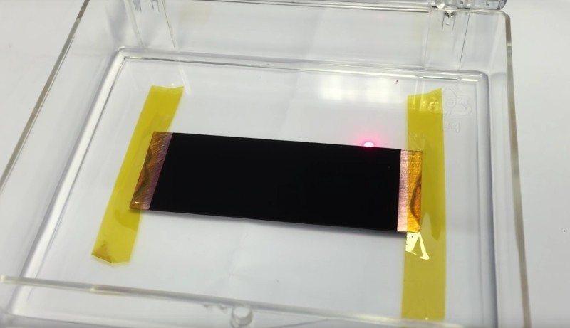 Vantablack - The New Blackest Material Ever!