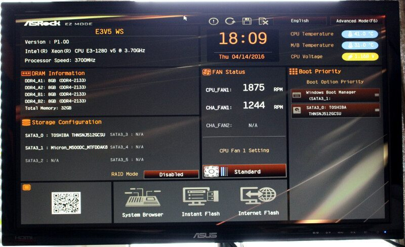 ASROCK_E3V5_WS-Photo-BIOS 1
