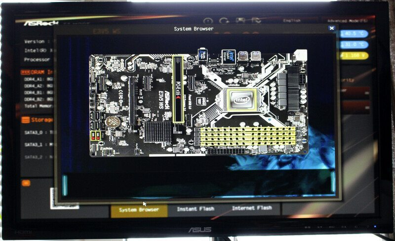 ASROCK_E3V5_WS-Photo-BIOS 2