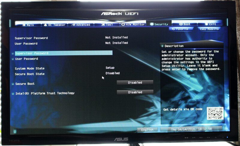 ASROCK_E3V5_WS-Photo-BIOS 21