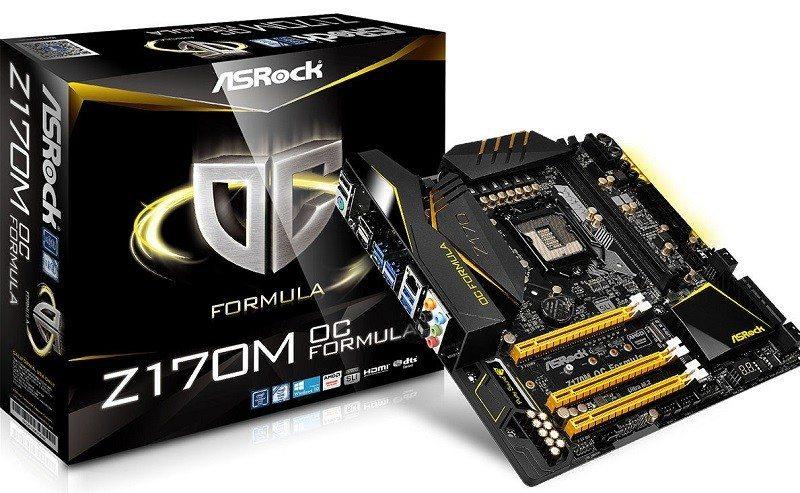 ASRock Reveals Z170M OC Formula Motherboard (4)