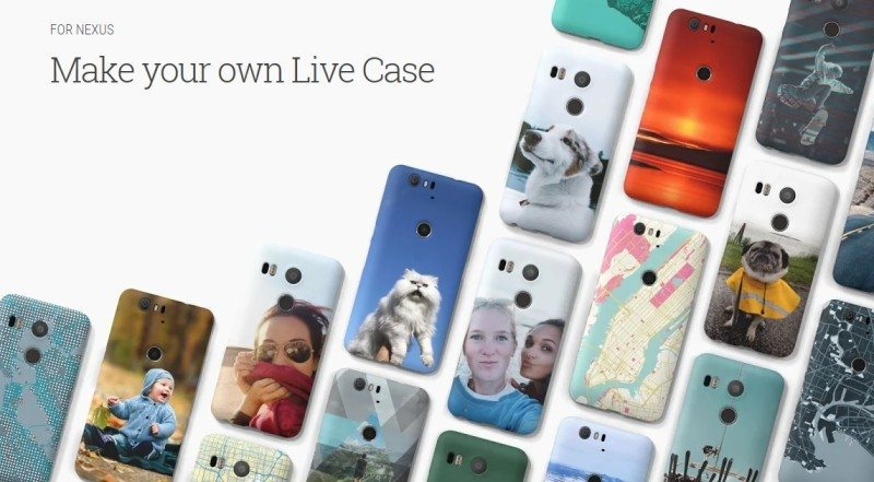 Get a Custom Nexus 5X or 6P Live Case Now From Google