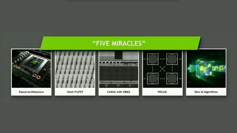 Nvidia Tesla P100 GP100 2 Five Miracles