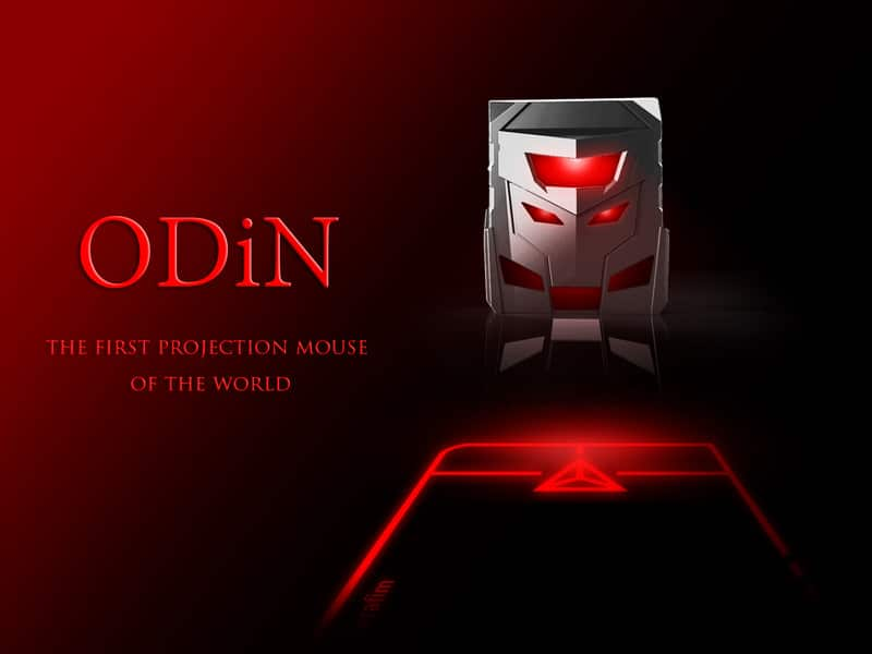 ODiN - The World's First Laser Projection Mouse