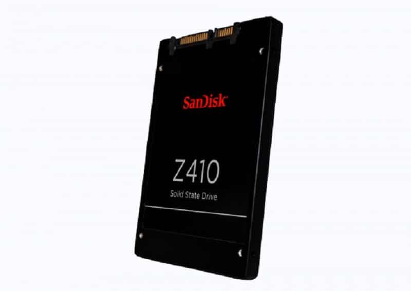 SanDisk Unveils Z410 15nm SSD