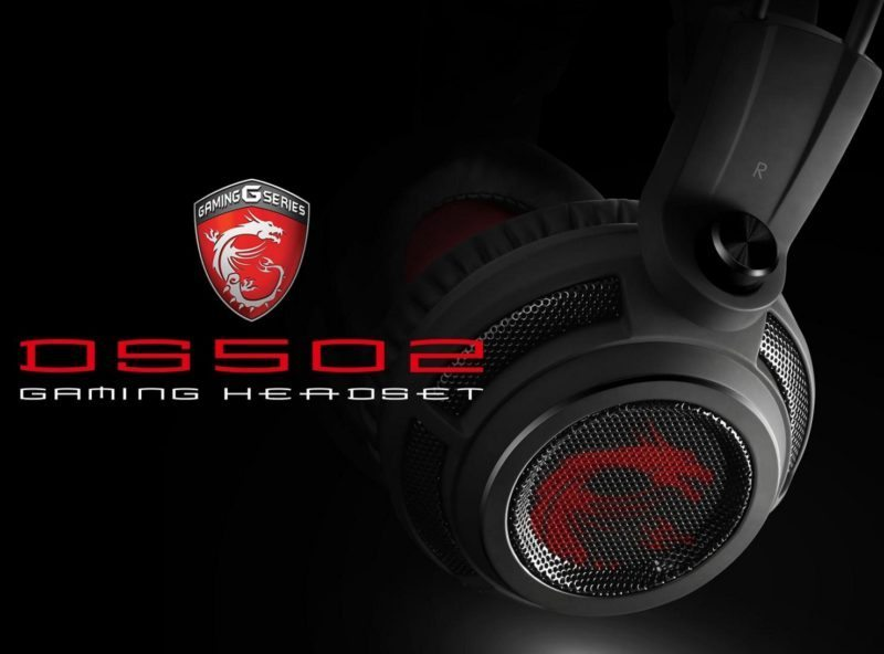 MSI DS502 Gaming Headset Review | eTeknix