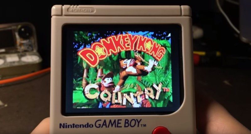 "Check Out The Raspberry Pi Powered ""GameBoy Zero"""