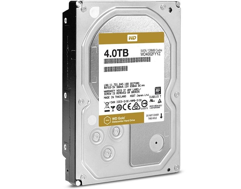 Western Digital WD Gold 4TB HDD
