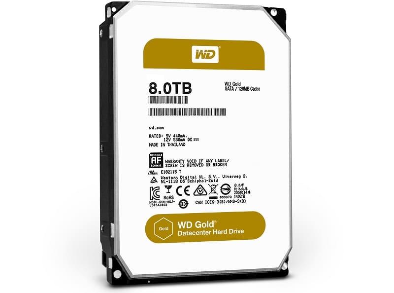 Western Digital WD Gold 8TB HDD