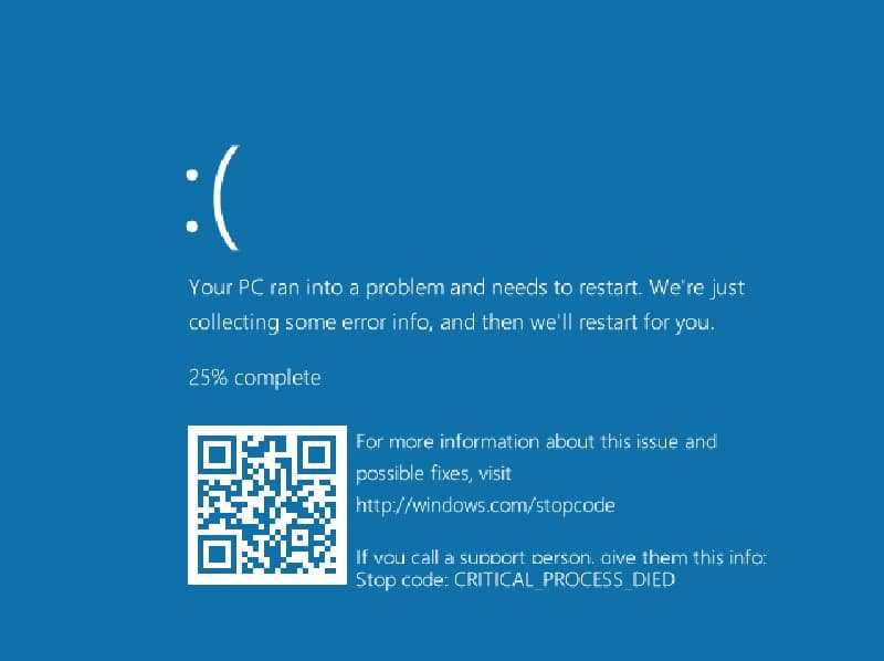Microsoft Contemplating QR Codes for Windows 10 BSOD