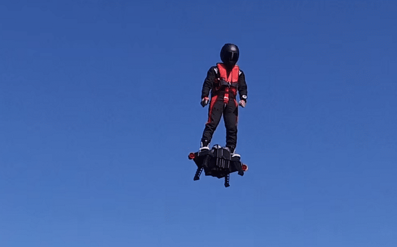 Who Wants a Real Hoverboard That Can Actually Fly?