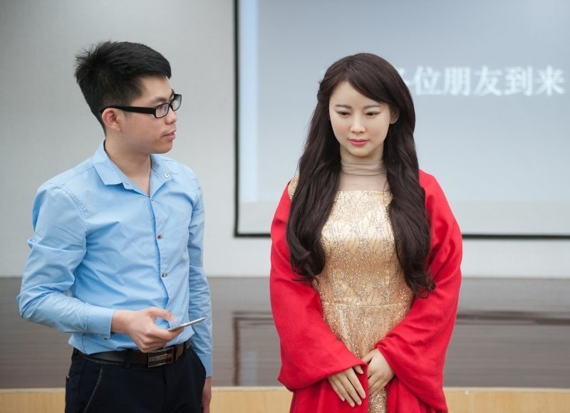 "Meet China's New Realistic Robot ""Jia Jia"""