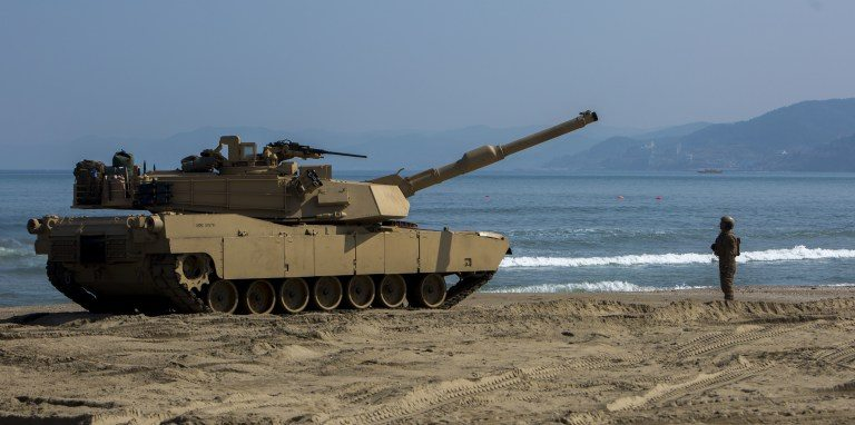 Drones and Anti-Missile Systems Being Used to Protect Tanks