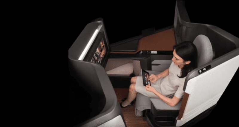 The Waterfront - Panasonics 4K Seat For Airplanes