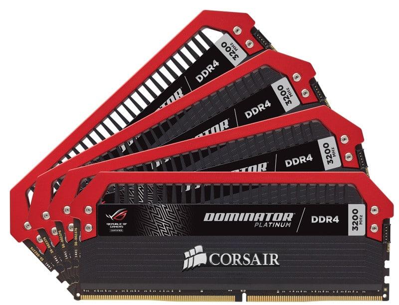 Corsair's New Dominator Platinum Memory is a ROG Fan's Dream
