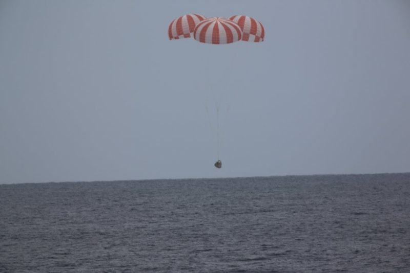 SpaceX's Dragon Capsule Returns Safely to Earth