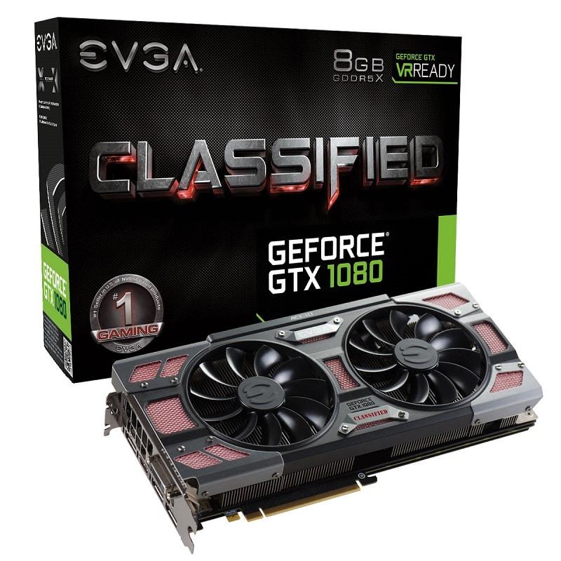 EVGA GeForce GTX 1080 Classified