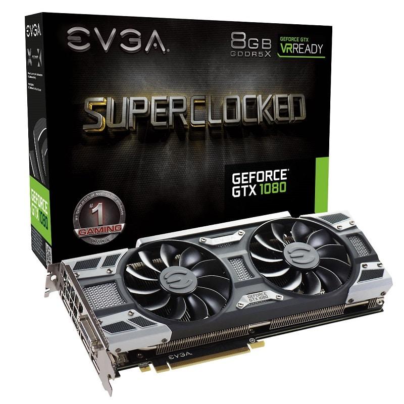 EVGA GeForce GTX 1080 SuperClocked