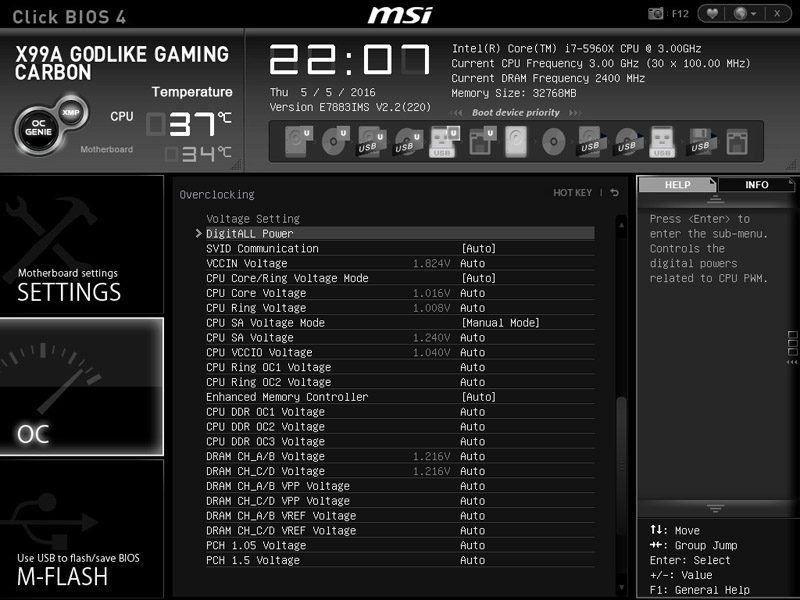 MSI X99A GODLIKE GAMING CARBON (LGA2011-3) Motherboard Review | Page