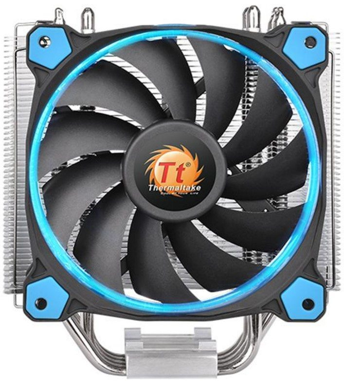 Thermaltake Riing Silent 12 CPU Cooler Review | eTeknix