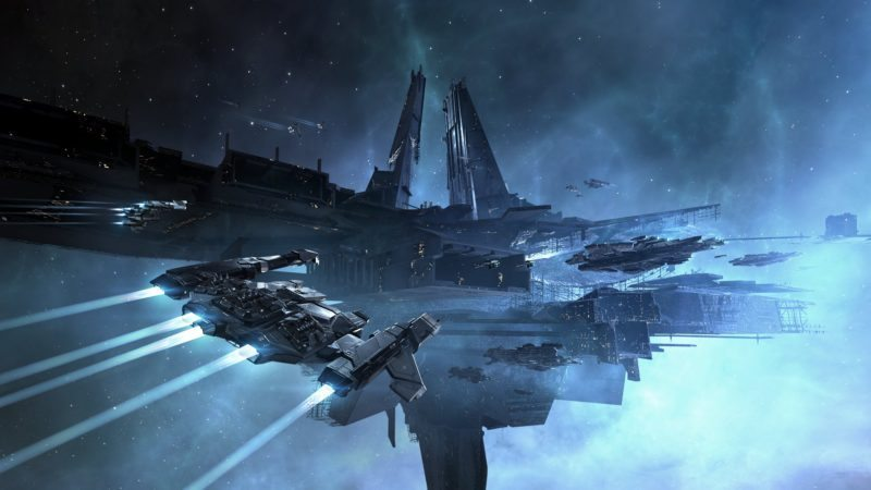 Latest EVE Online Ships Are Like Cities in Space! | eTeknix