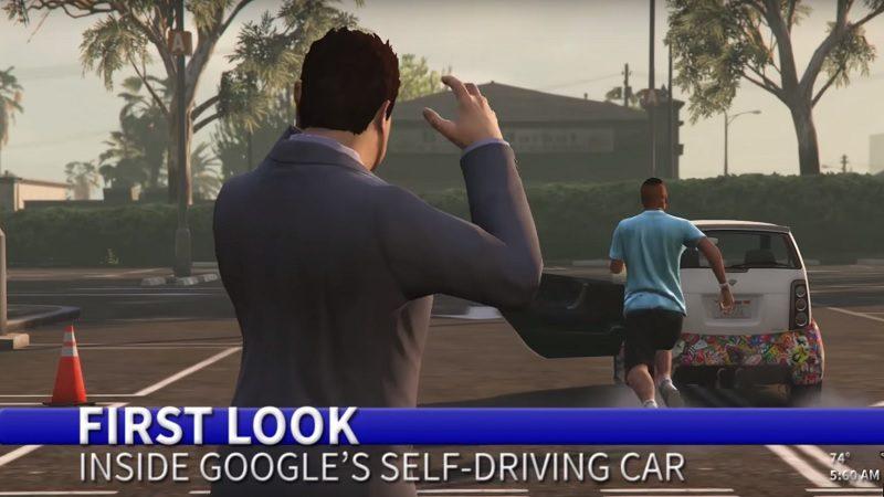 Google Car Promo Video With a GTA V Rampage Twist