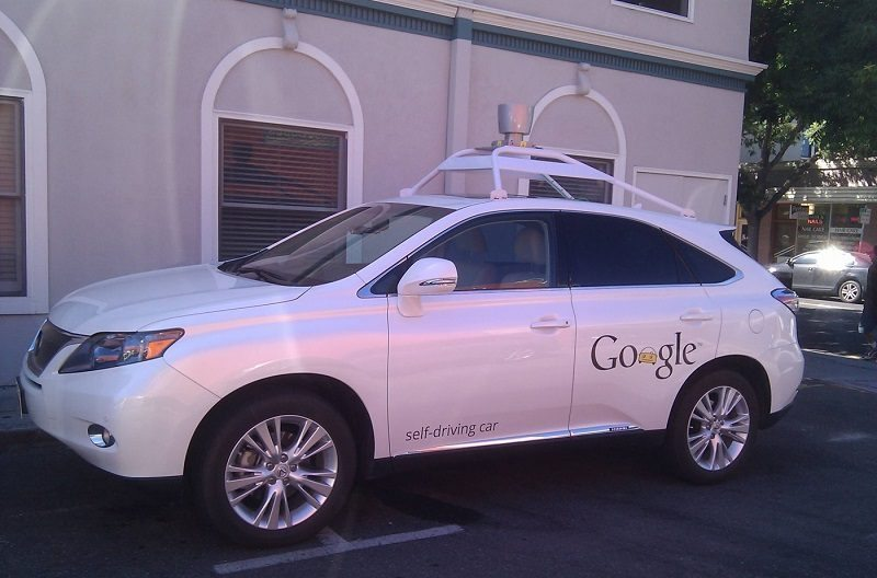 Google Self-Driving Car Gets Into a Crash in Mountain View