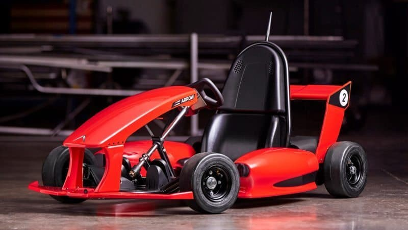 An electric go-kart titled the Smart-Kart