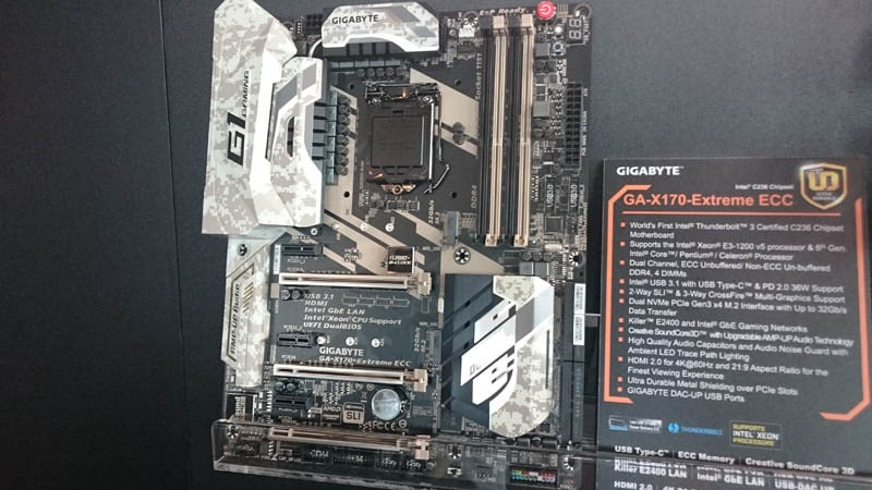 Latest Gigabyte Motherboards on Display at Computex | eTeknix