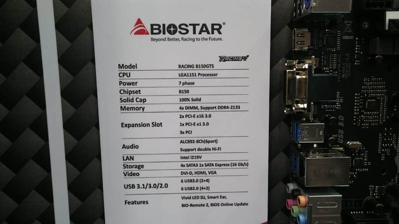 Biostar Goes Racing With New Motherboards at Computex 2016