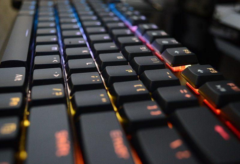 Tesoro Gram Spectrum Mechanical Gaming Keyboard Review