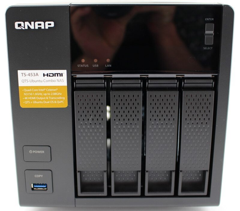 QNAP TS-453A QTS-Ubuntu Combo NAS Review | Page 10 of 26 | eTeknix