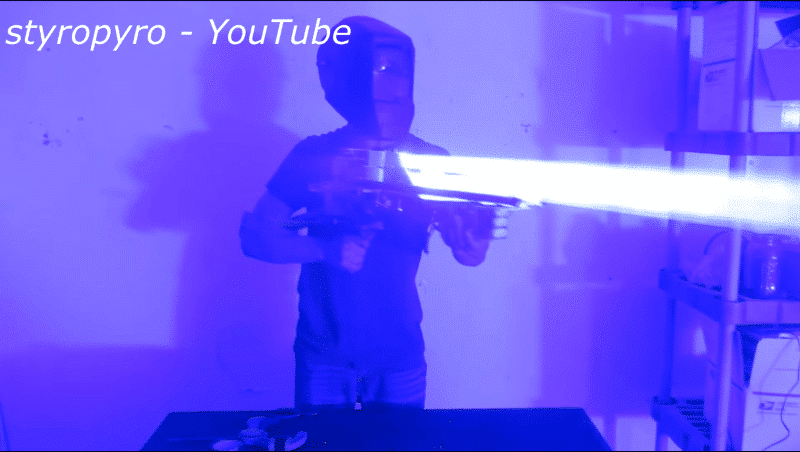 Who Wants a Laser Bazooka?