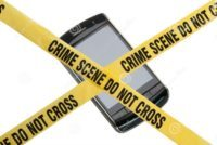 Leave your phone at a crime scene, don't expect any privacy from it