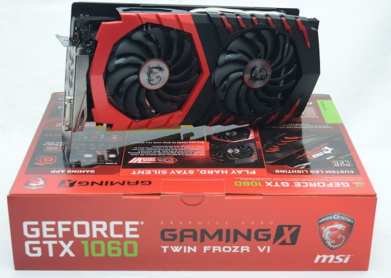 MSI GTX 1060 Gaming X Graphics Card Review | eTeknix