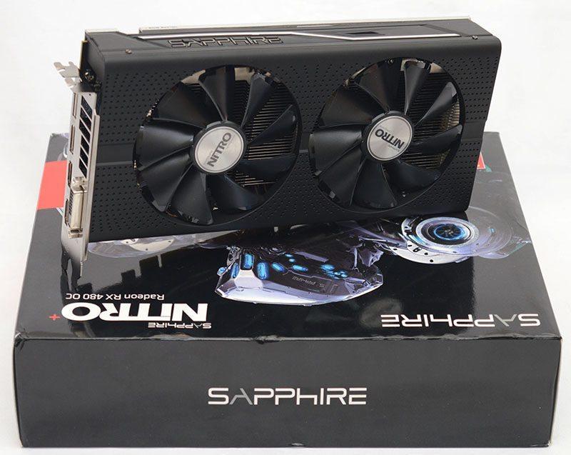 Sapphire Nitro+ RX 480 OC