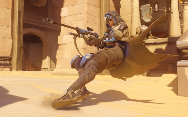New Overwatch Hero Ana Hits Public Test Servers | eTeknix