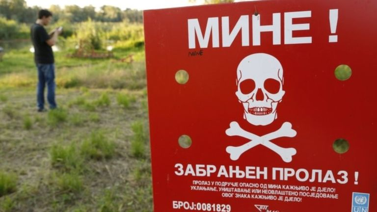 Bosnians Warned Not To Play Pokémon GO in Minefields