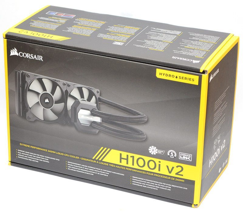 Corsair H100i V2 240mm AIO CPU Cooler Review | eTeknix
