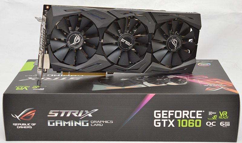 ASUS STRIX GAMING GTX 1060 Graphics Card Review | eTeknix
