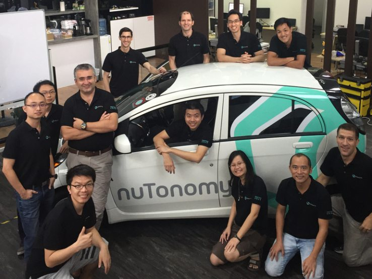NuTonomy Launches World's First Self-Driving Taxi