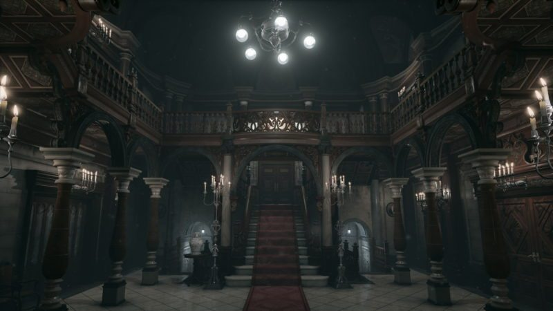 The Resident Evil Mansion Has Been Recreated in Unreal Engine 4