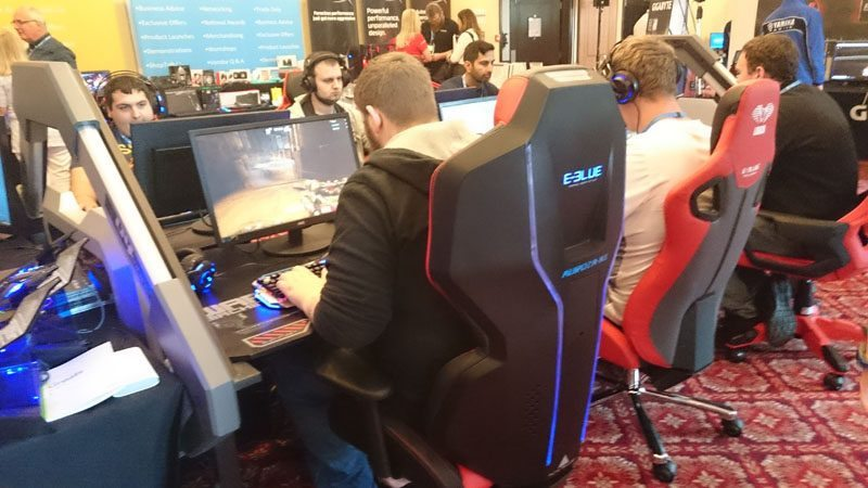 Miraculous E Blue Showoff Rgb Gaming Chair At Target Open Day 2016 Machost Co Dining Chair Design Ideas Machostcouk