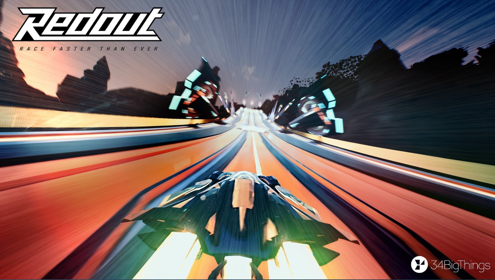 Redout – The UE4 Powered Futurist Racer is Now Available