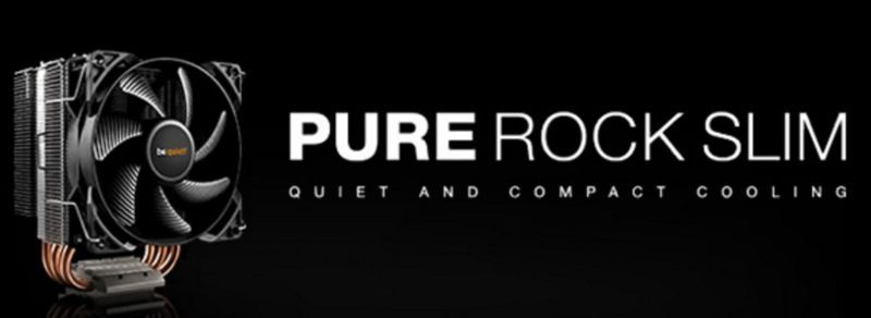 be quiet! Pure Rock Slim CPU Cooler Review