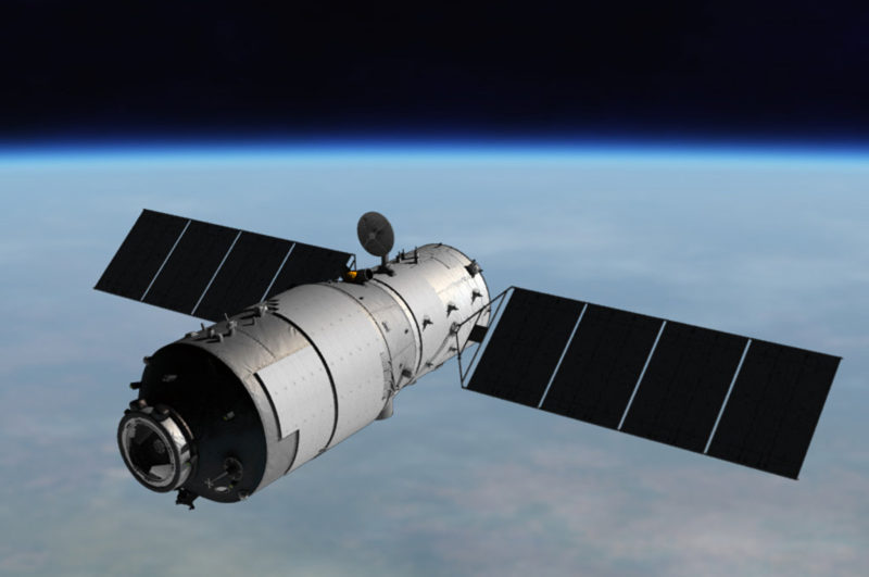 """""""Out of Control"""" Chinese Space Lab Falling to Earth"""