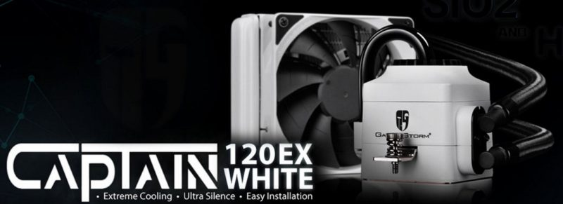 DeepCool Captain 120EX White Edition CPU Cooler Review